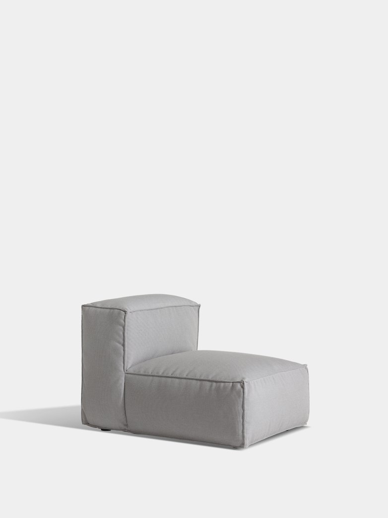 Asker Sofa Mid Section Small - Light Grey