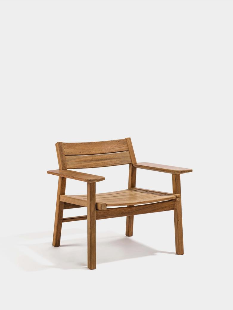 Djurö Lounge Armchair - Teak