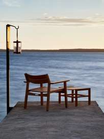 Djurö Lounge Stool