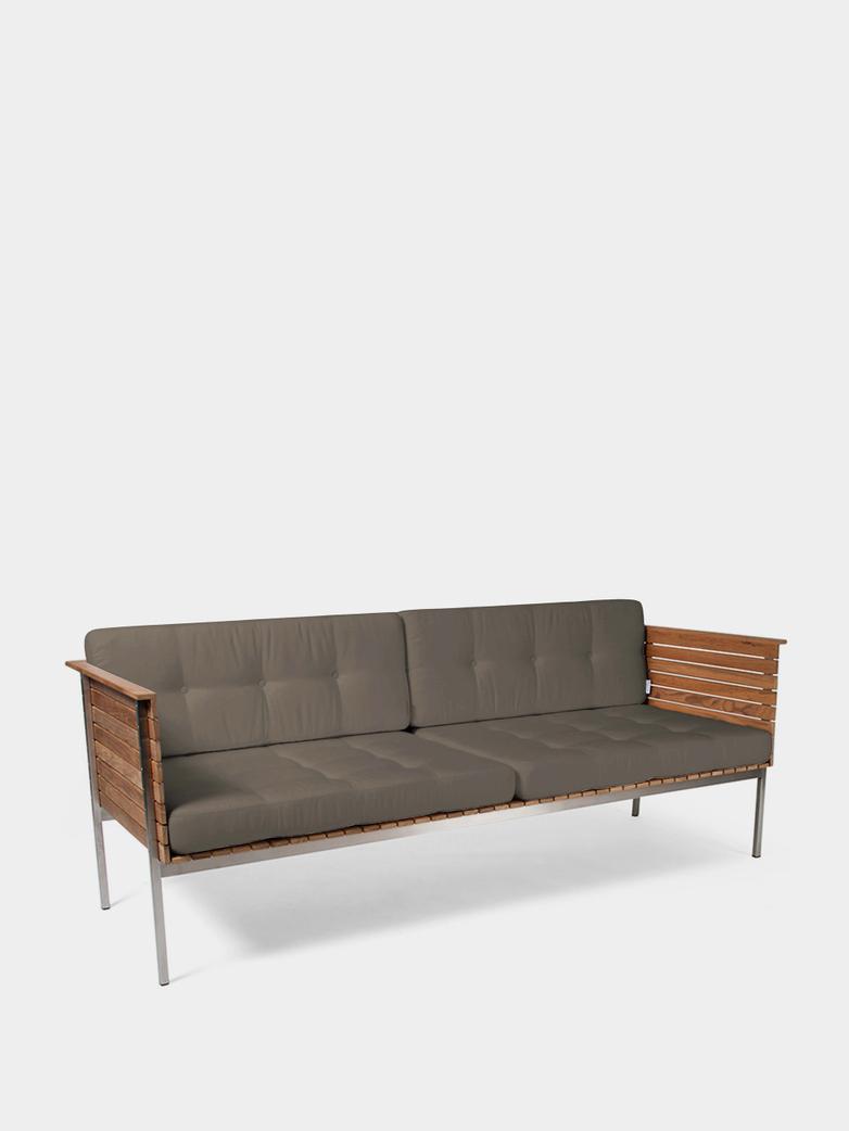 Häringe Lounge Sofa - Steel Frame/Heather Chine