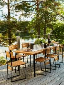 Kerteminde Chair - Teak/Green