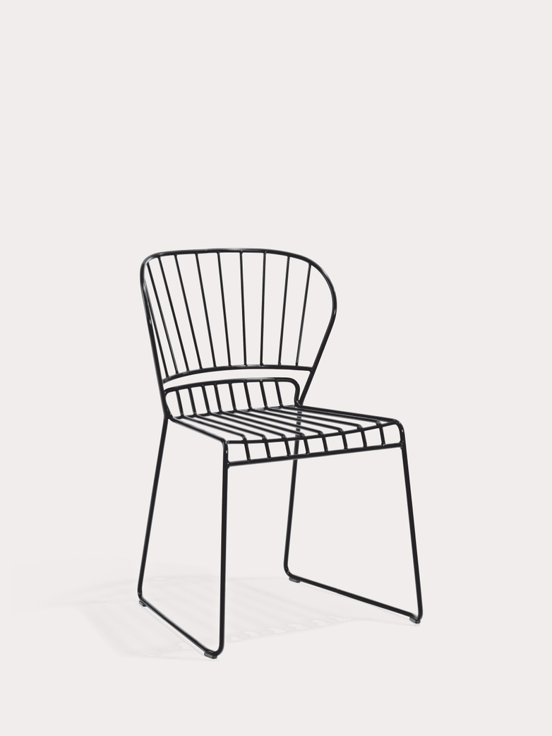 Resö Chair - Charcoal Grey