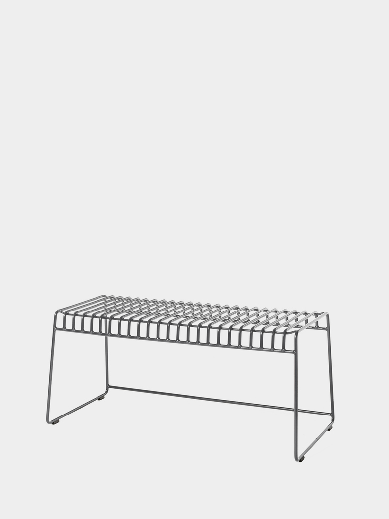 Resö Bench - Charcoal Grey