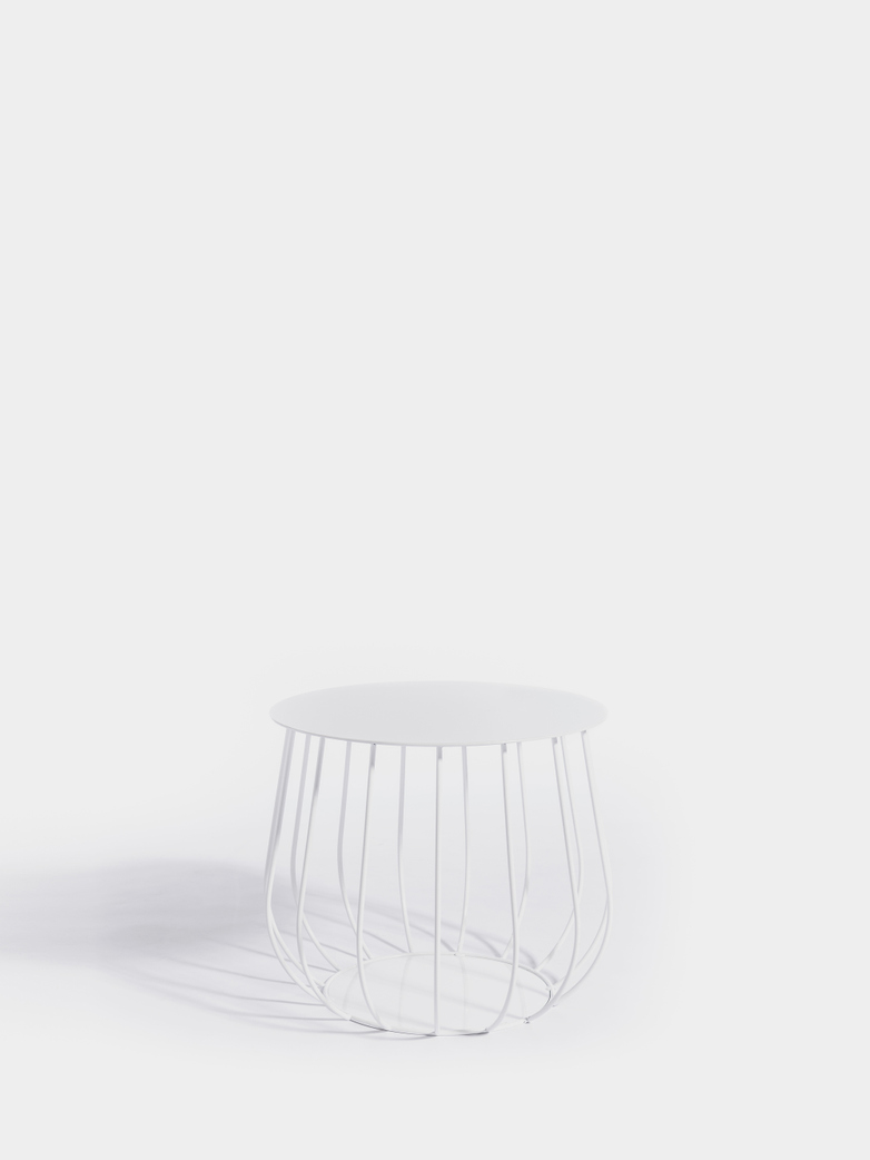 Resö Lounge Table - White