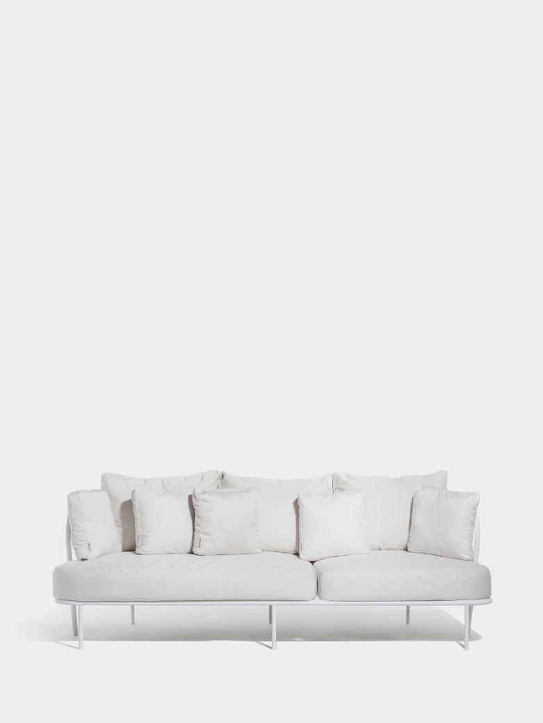 Saltö Sofa - Light Grey Frame/Silver Grey