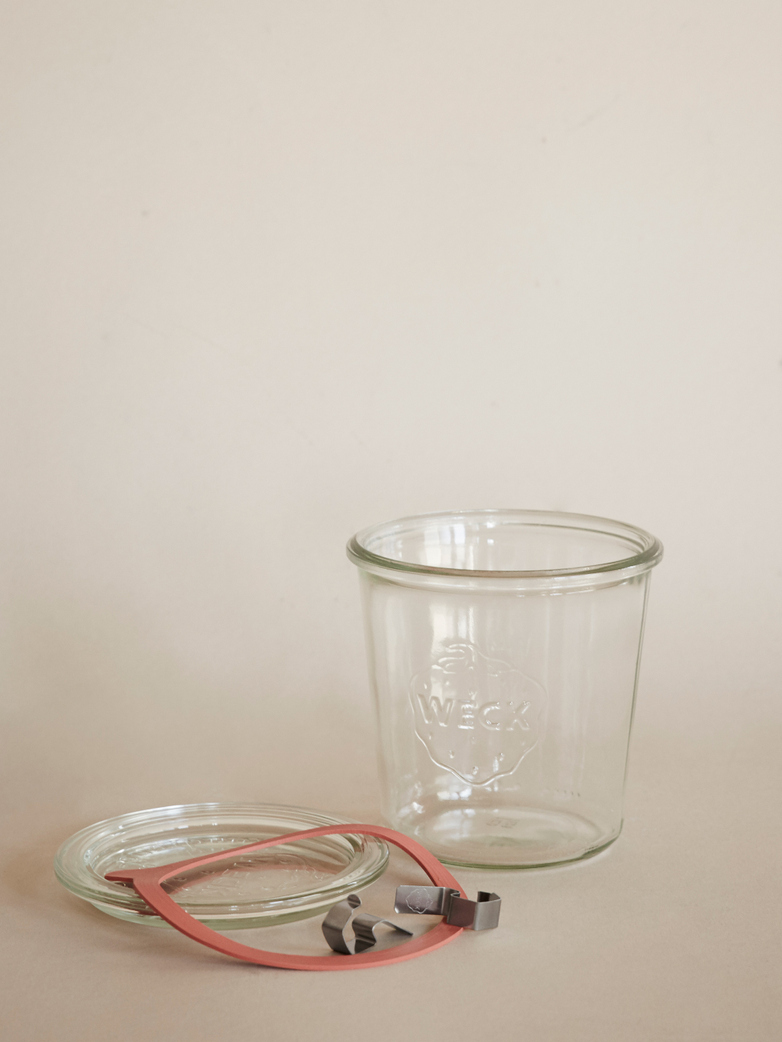 Weck Mold Jar 580 ml - Complete Set