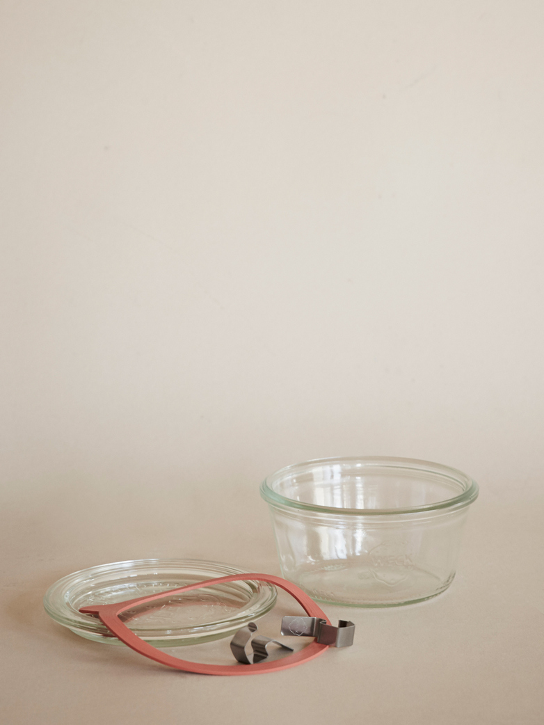 Weck Mold Jar 290 ml - Complete Set