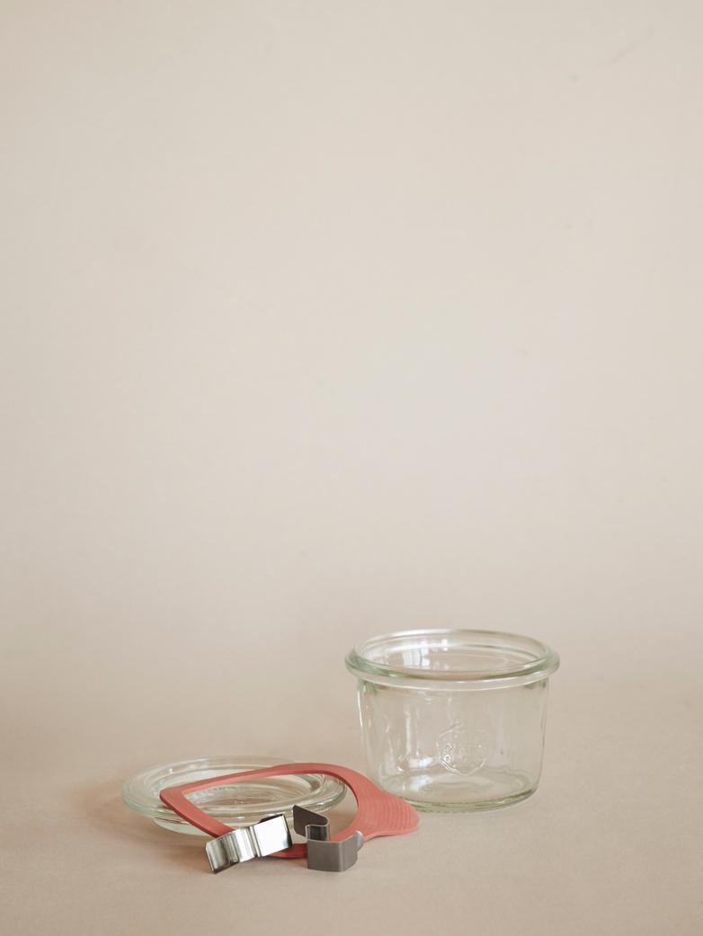 Weck Mold Jar 80 ml - Complete Set