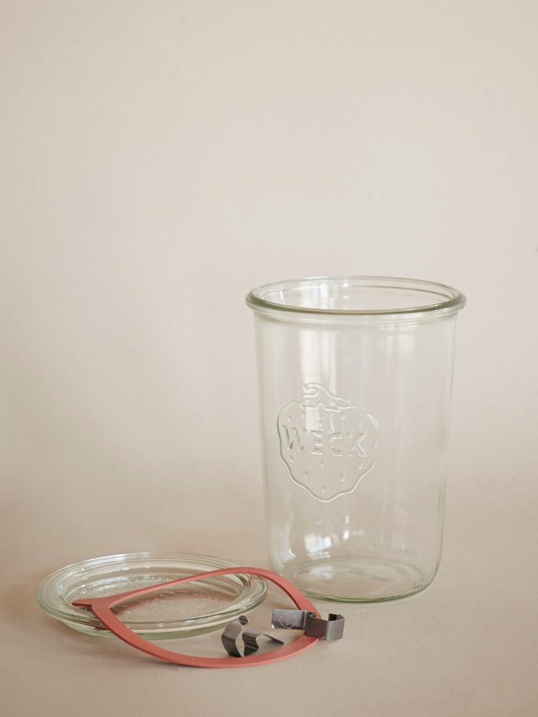 Weck Mold Jar 850ml - Complete Set