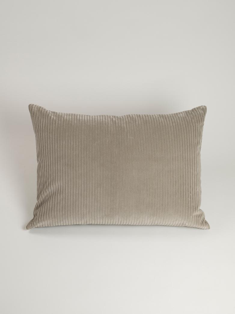 Uno Cushion - 50 x 70 cm - Grey Brown