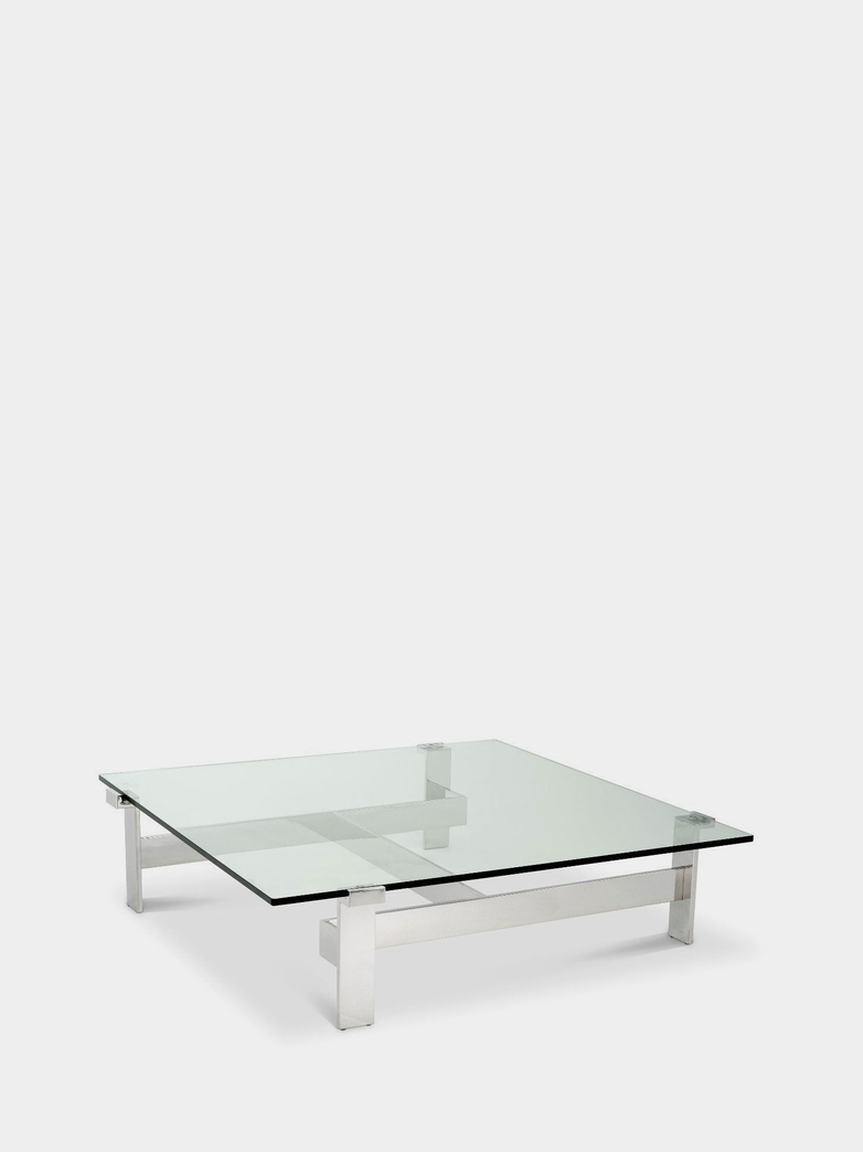 Savona Coffee Table - Stainless Steel