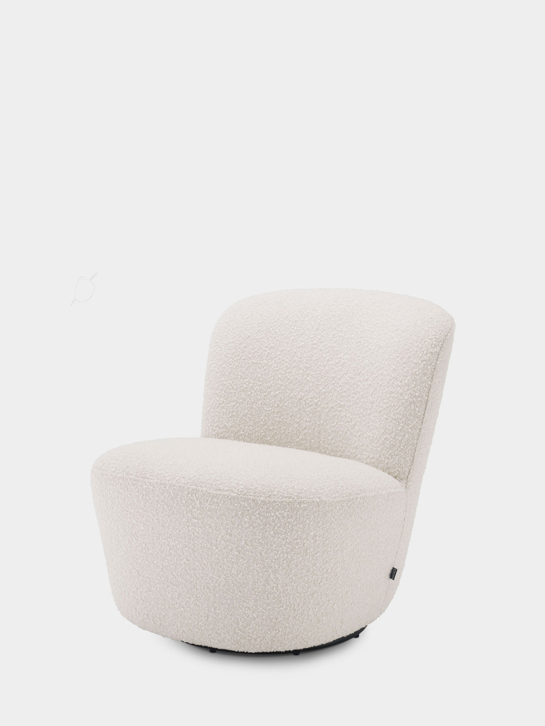 Castello Chair - Bouclé Cream