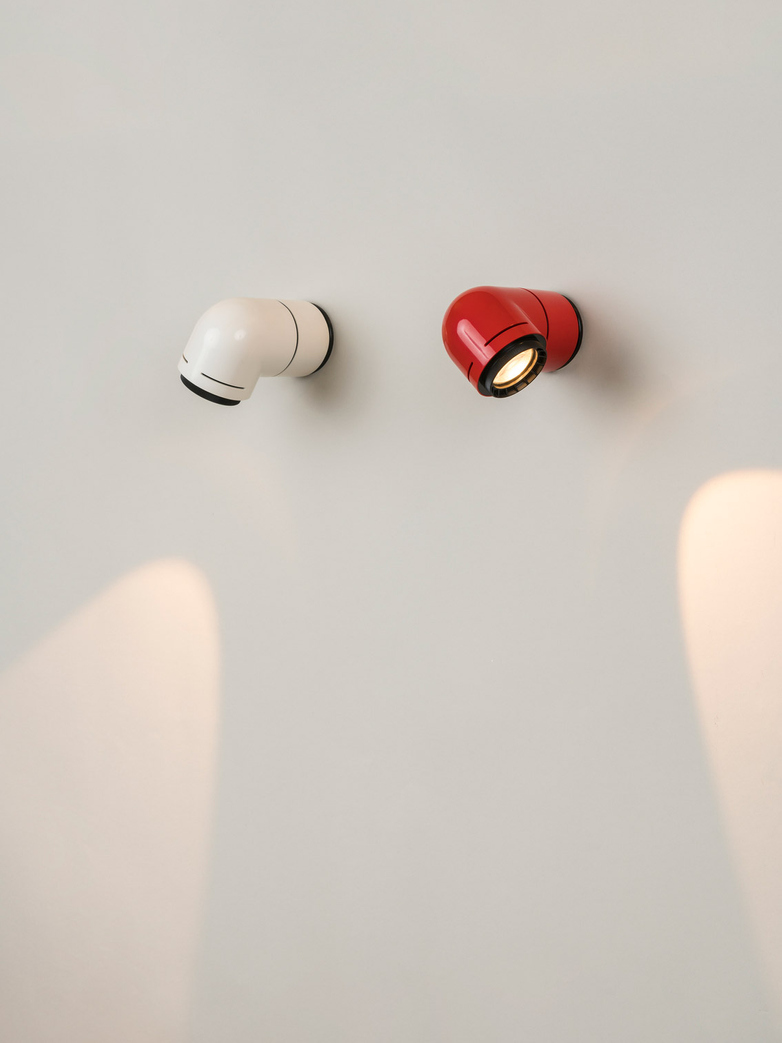 Petit Tatu Wall Lamp - White