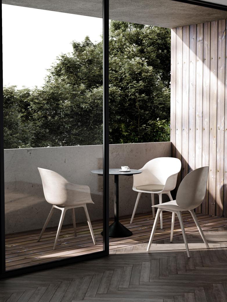 Bat Dining Chair Outdoor