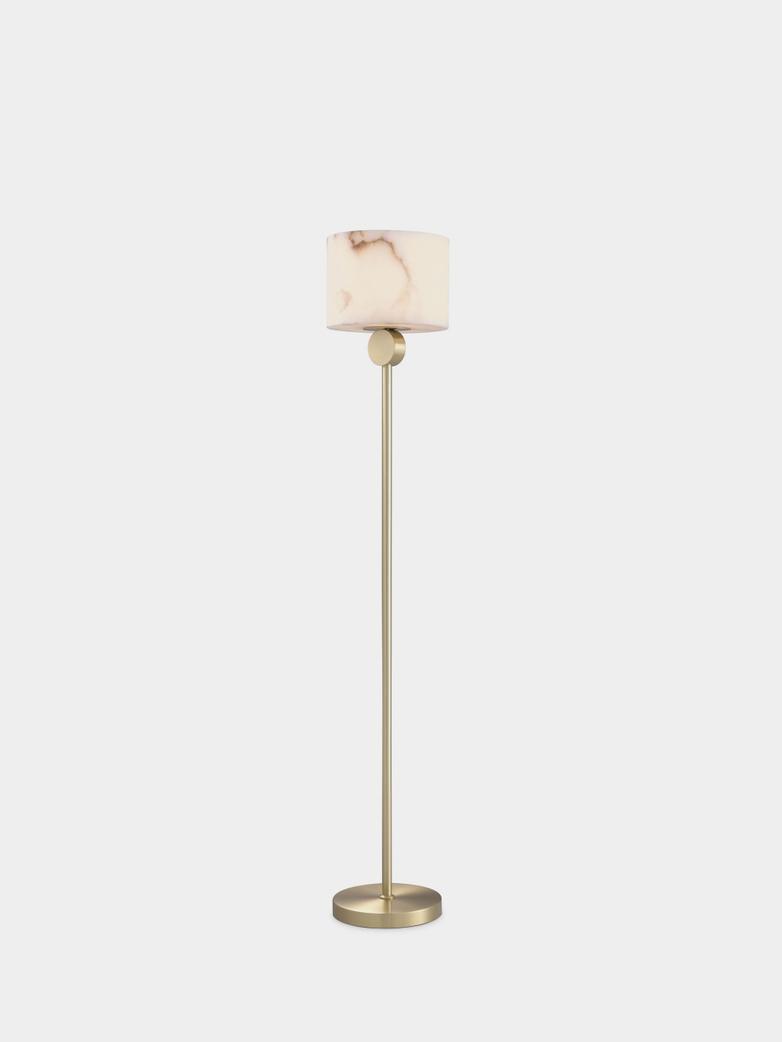 Alabaster Floor Lamp