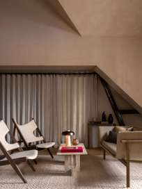 Androgyne Lounge Table - Kunis Breccia Stone