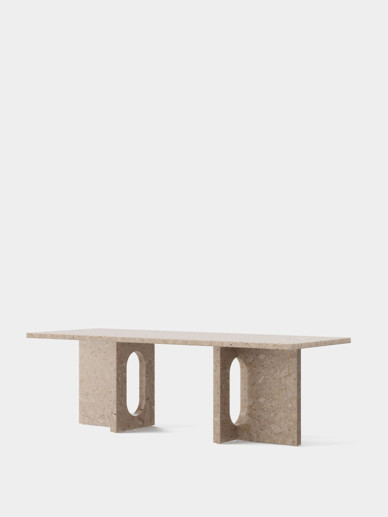 Androgyne Lounge Table - Kunis Breccia Stone