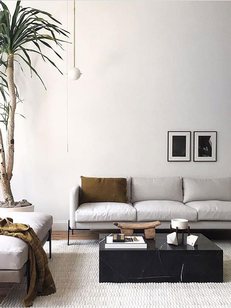 Plinth Low Sofa Table