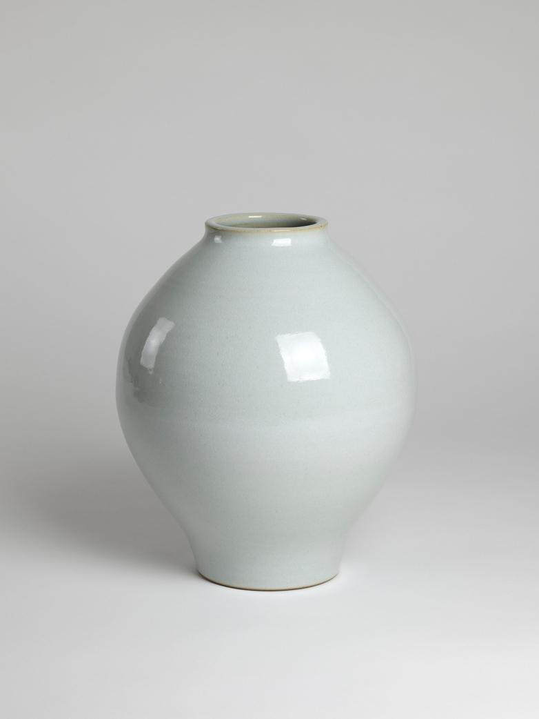 Vases Satin Glazed White