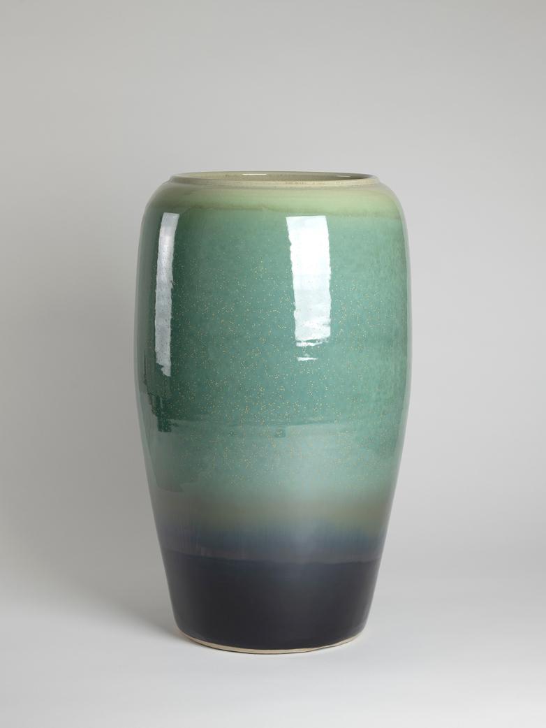Reactive Vase Turquoise