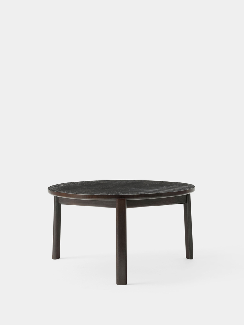 Passage Lounge Table - Dark Lacquered Oak