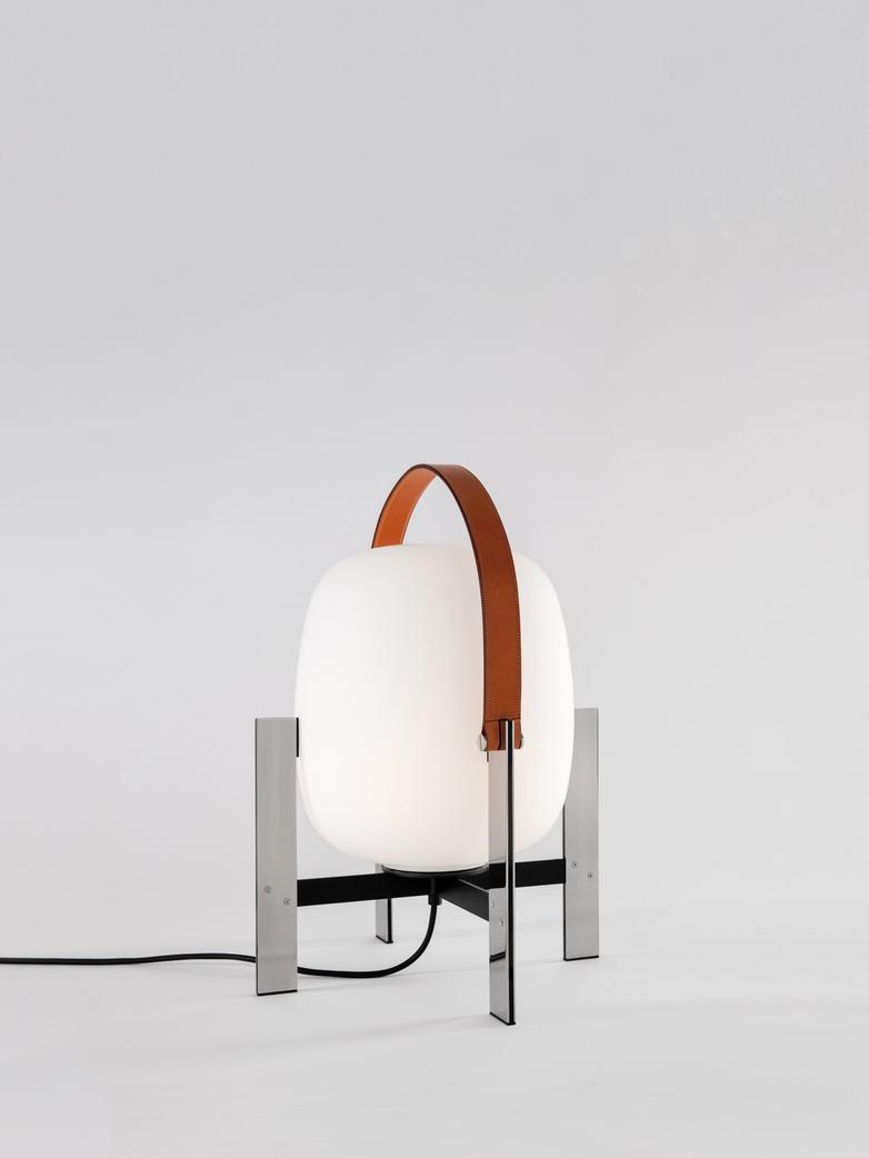 Cesta Metálica - Table Lamp