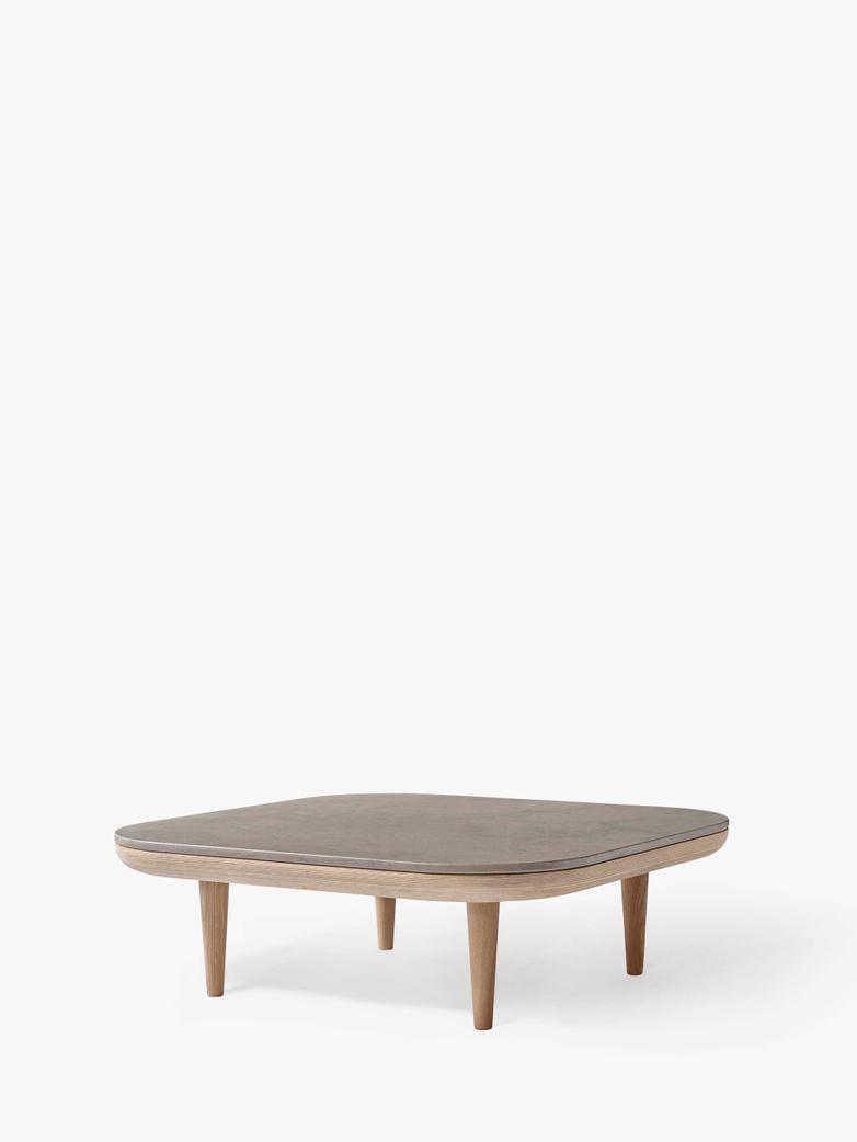 Fly SC4 Lounge Table - White Oiled Oak/Azul Vaverde Marble