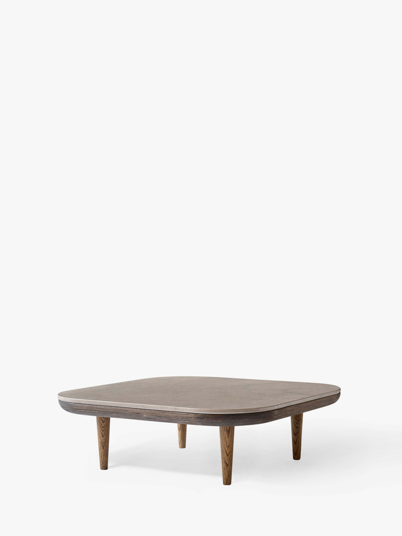 Fly SC4 Lounge Table - Smoked Oiled Oak/Azul Vaverde Marble