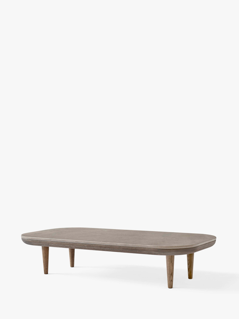 Fly SC5 Lounge Table - Smoked Oiled Oak/Azul Vaverde Marble