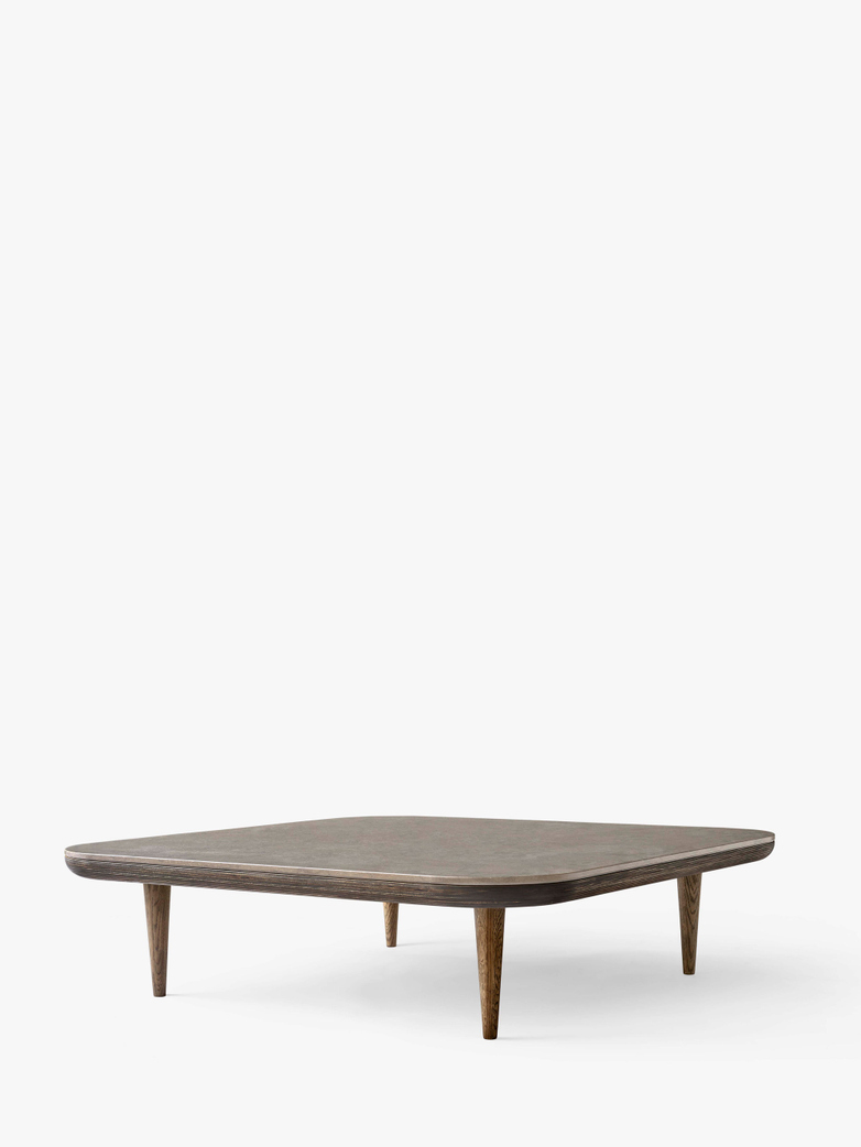 Fly SC11 Lounge Table  - Smoked Oiled Oak/Azul Vaverde Marble