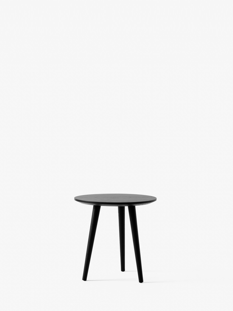 In Between SK13 Lounge Table - Black Lacquered Oak