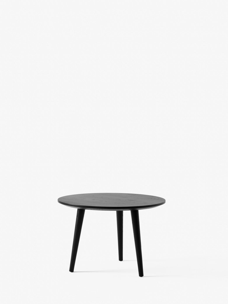 In Between SK14 Lounge Table - Black Lacquered Oak