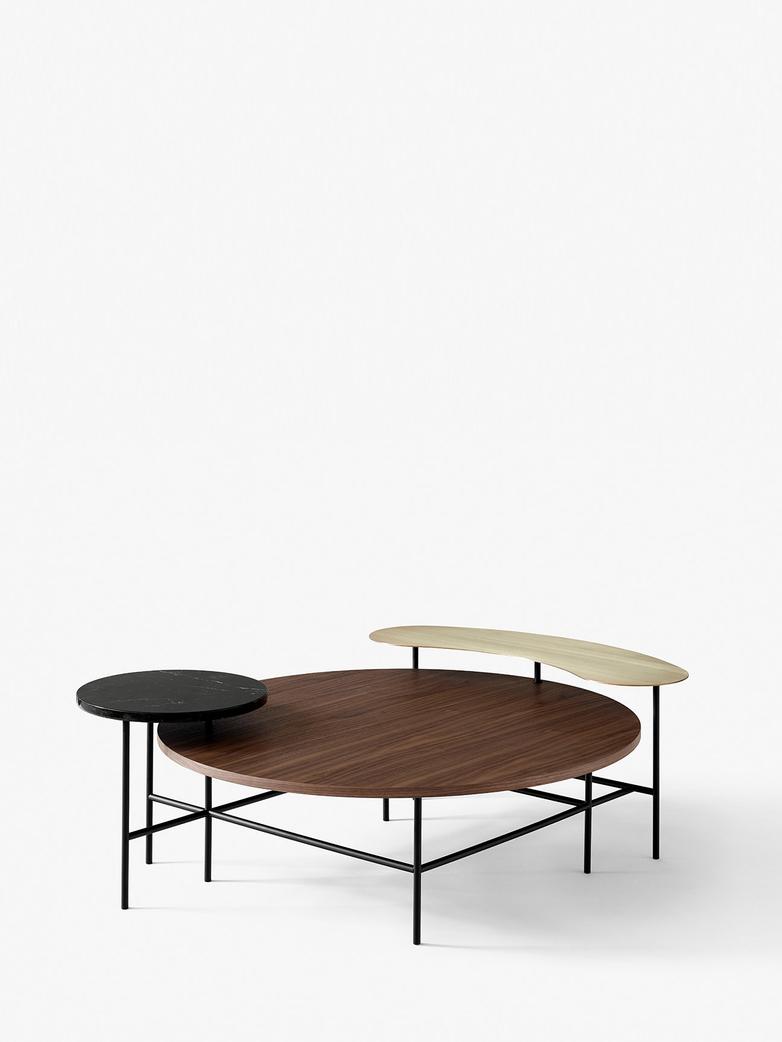 Palette JH25 Lounge Table - Walnut Veneer