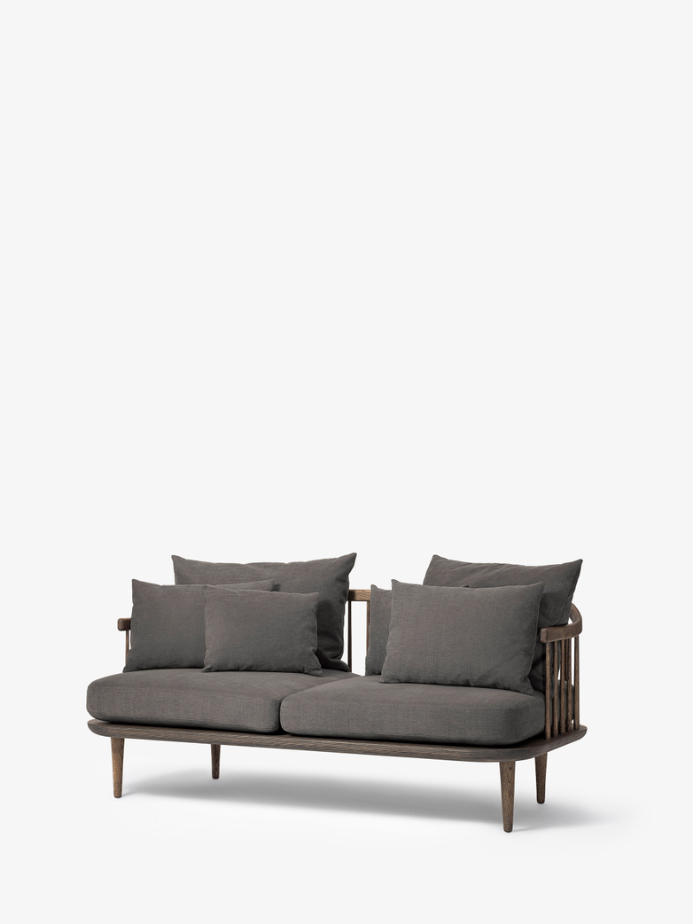 Fly Sofa SC2 - Smoked Oiled Oak – Grey