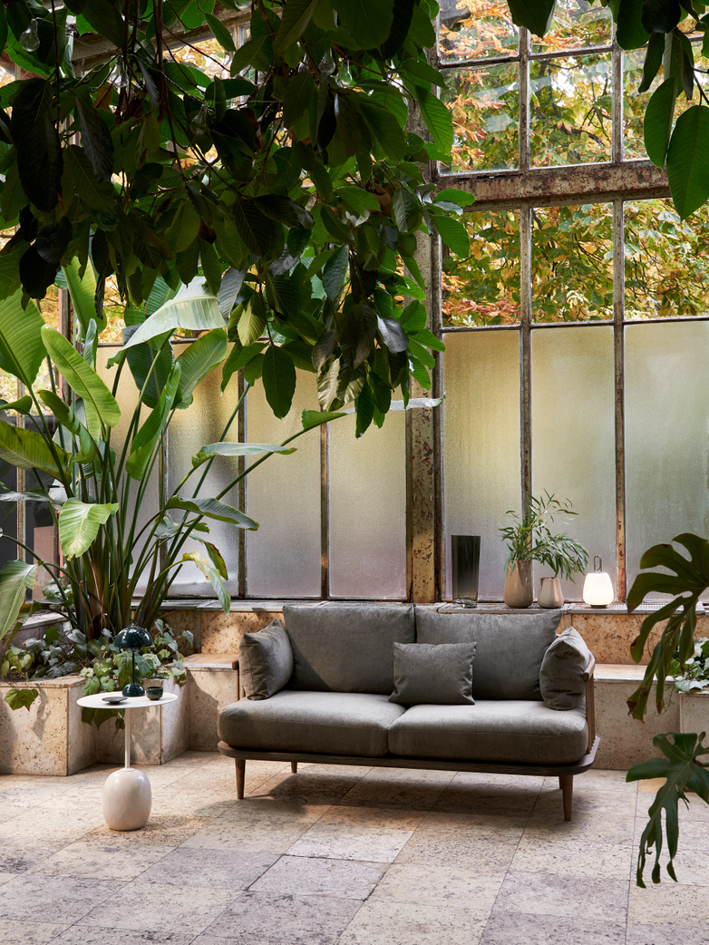 Fly Sofa SC2 - Smoked Oiled Oak – Grey