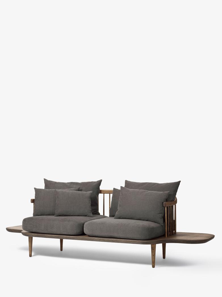 Fly Sofa SC3 - Smoked Oiled Oak – Grey