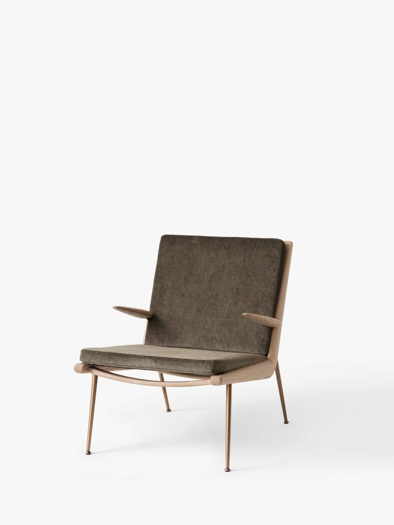 Boomerang HM2 Lounge Chair - Soaped Oak - Duke 004
