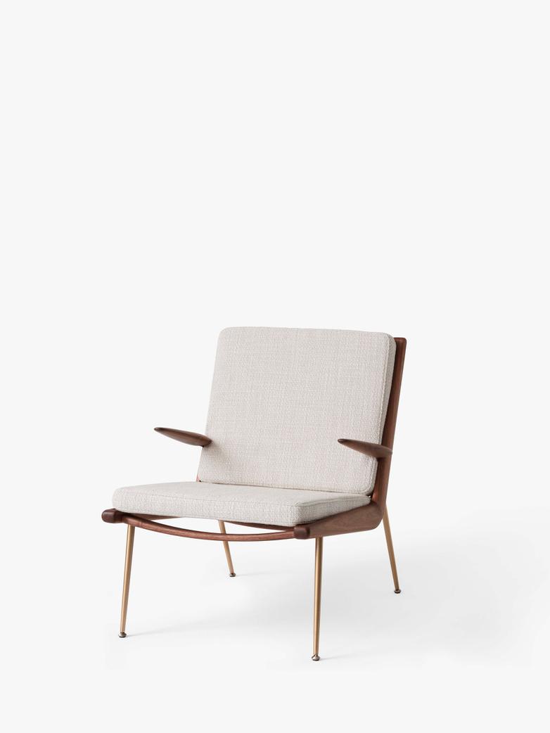 Boomerang HM2 Lounge Chair - Walnut - Duke 004