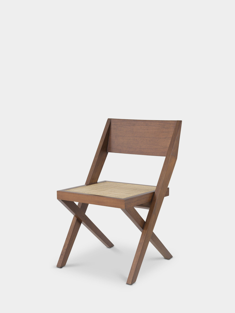 Giron Dining Chair - Brown