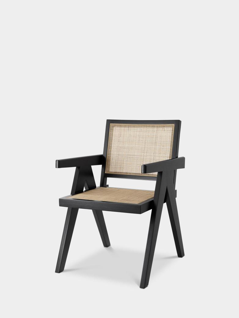 Nimes Dining Chair - Black