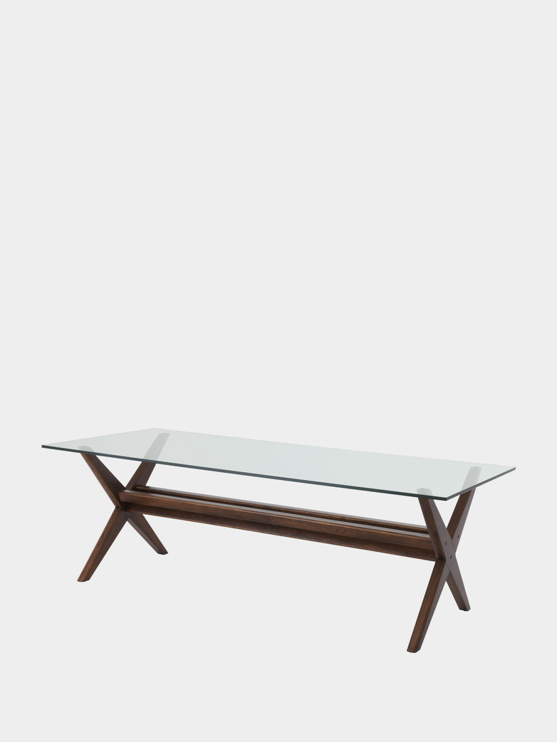 Lago Dining Table - Brown