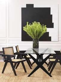 Lago Dining Table - Black