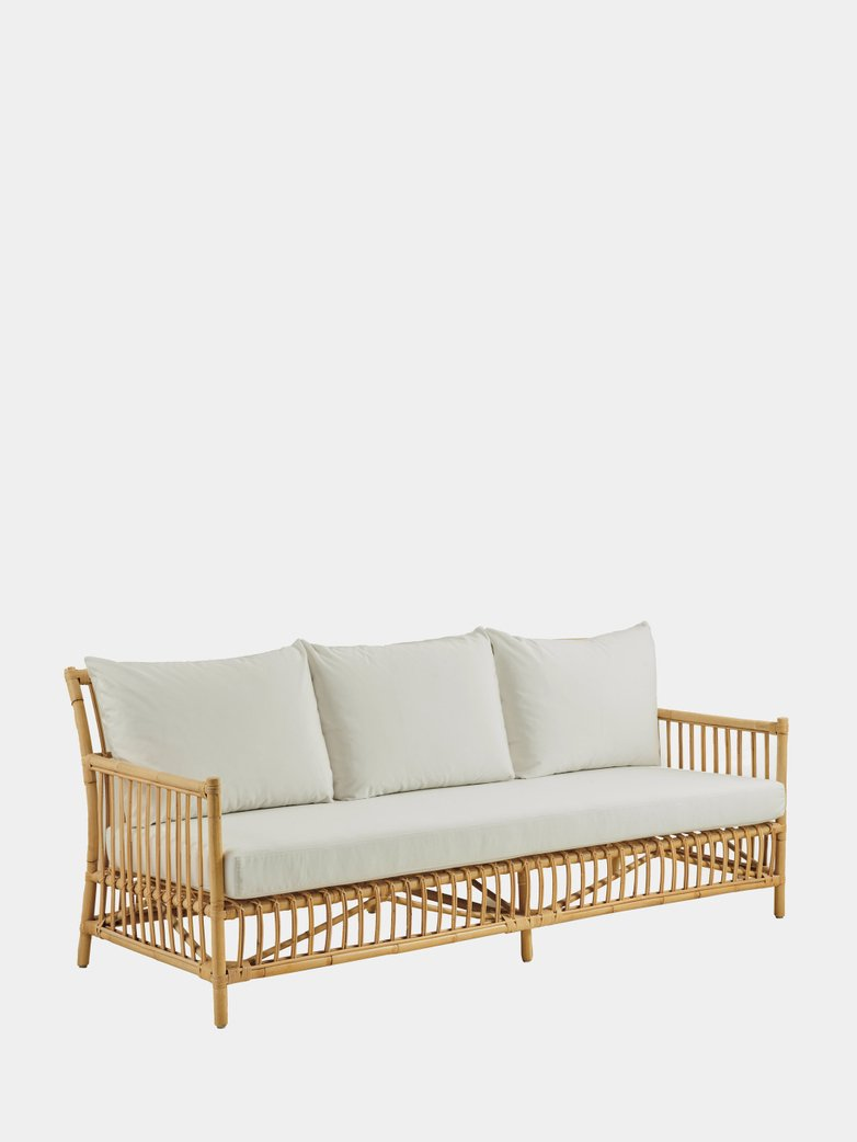 Caroline Sofa - Natural - White