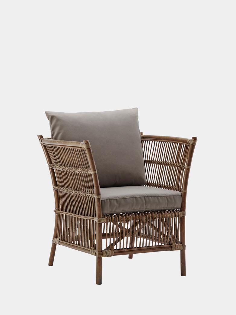 Donatello Lounge Chair - Antique Brown