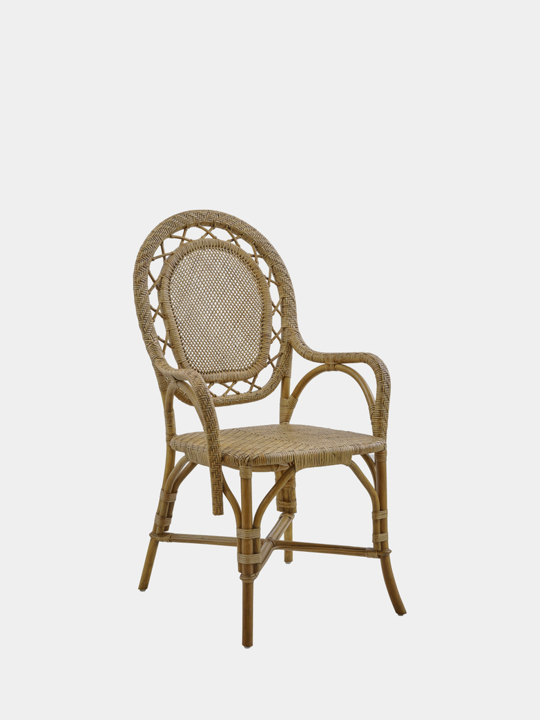 Romantica Dining Chair - Antique Brown