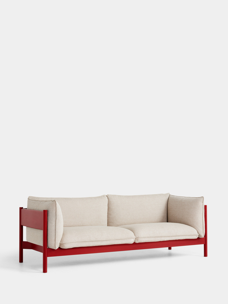 Arbour 3 Seater - Wine Red Beech - Hallingdal 220