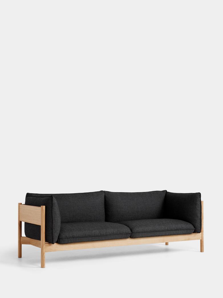 Arbour 3 Seater - Oiled Oak - Re-wool 198