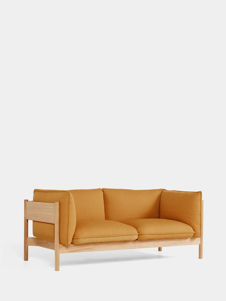 Arbour 2 Seater - Oiled Oak - Vidar 472