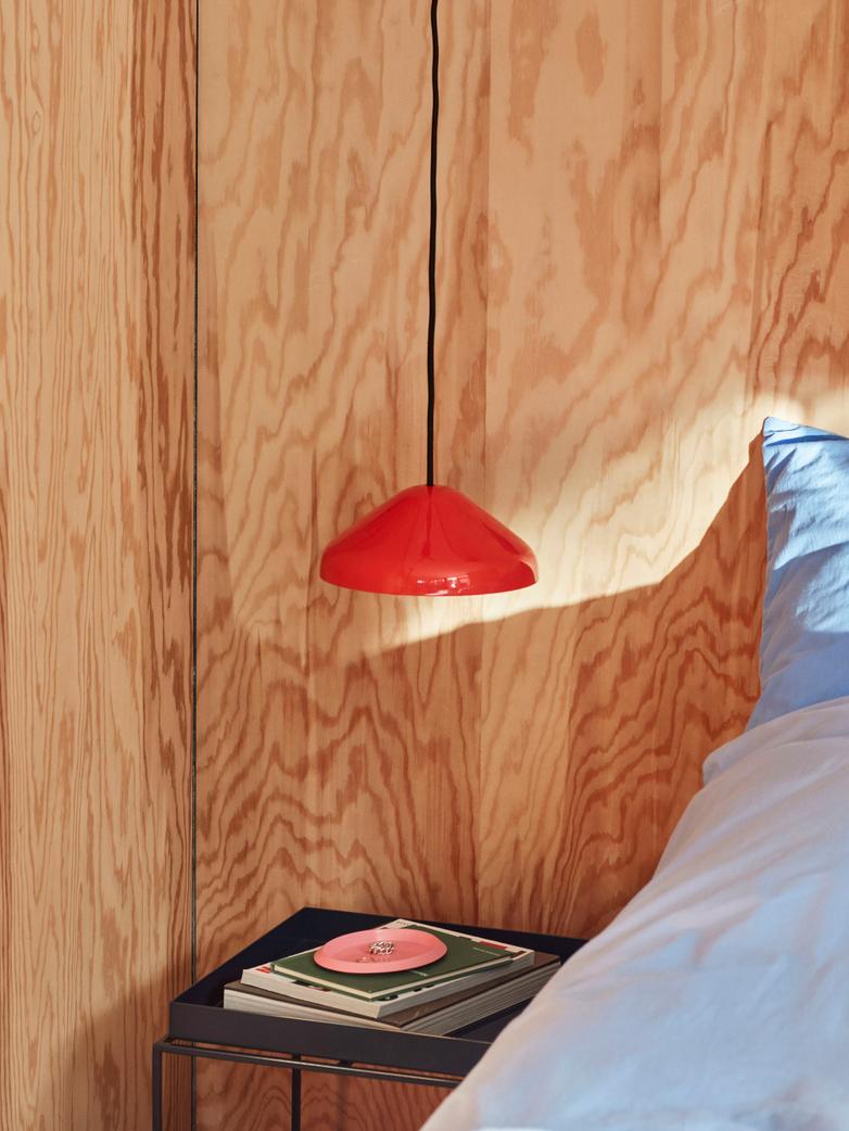 Pao Steel Pendant 23 cm -  Red