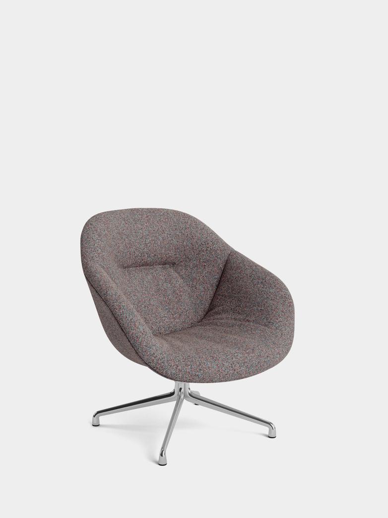AAL 81 Soft Lounge - Polished Aluminium - Swarm Multi Color